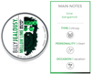 Billy Jealousy Mellow Lime Beard Balm Scent