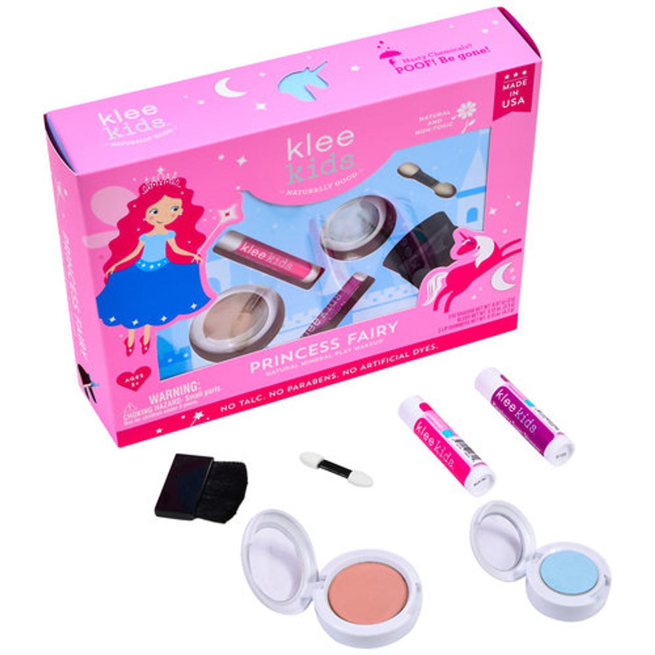 38b6a11c30 Klee Kids All-Natural Mineral 4 Piece Makeup Play Kit - Princess Fairy