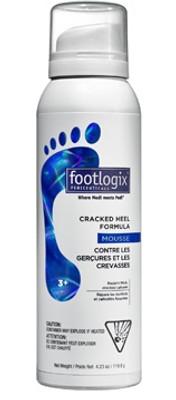 Footlogix #3+ Extra Cracked Heel Formula Mousse 4.2 oz
