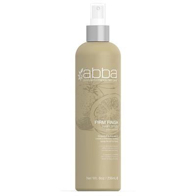Abba Firm Finish Hair Sprays Non-Aerosol 8 oz