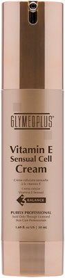 GlyMed Plus Cell Science Vitamin E-Sensual Cell Cream New Packaging