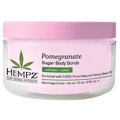 Hempz Pomegranate Sugar Body Scrub 7.3 oz