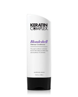 Keratin Complex Debrass Blondeshell Conditioner - 13.5 oz