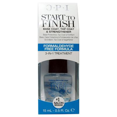 OPI Start to Finish Formaldehyde Free