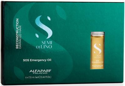 Alfaparf Semi Di Lino Reconstruction SOS Emergency Oil