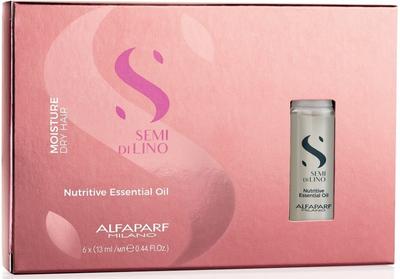 Alfaparf Semi Di Lino Moisture Nutritive Essential Oil (6 Vials)