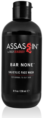 Billy Jealousy Assassin Bar None Salicylic Acid Face Wash