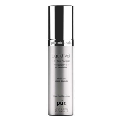 Pur Minerals Liquid Veil 4-in-1 Spray Foundation 2 oz