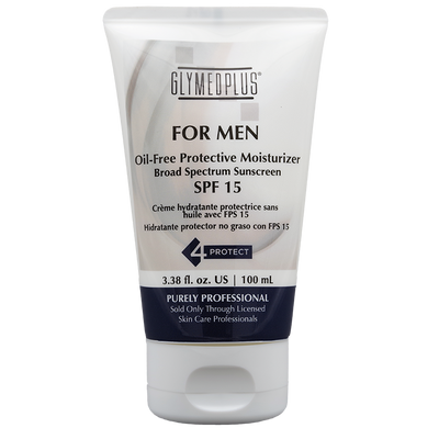 GlyMed Plus For Men Oil Free Protective Moisturizer SPF 15