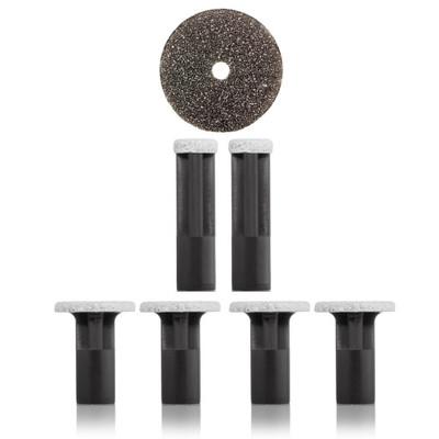 PMD Replacement Discs Black Coarse - 6 ct
