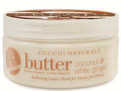 Cuccio Naturale Coconut and White Ginger Butter Blend 8 oz