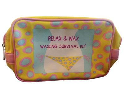 Relax and Wax Waxing Survival Kit Bag