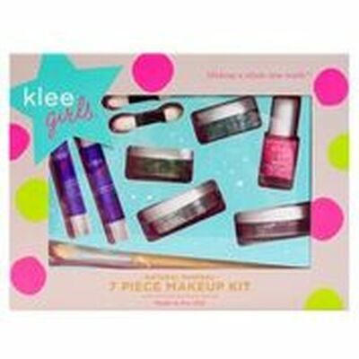 Luna Star Klee Girls Natural Mineral 7 Piece Makeup Kit - Far and Wide