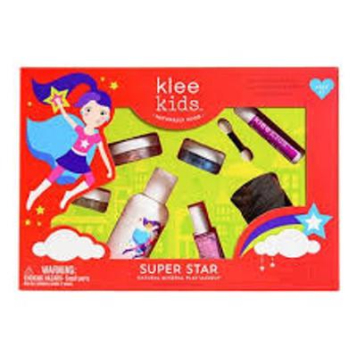 Luna Star All-Natural Mineral 7 Piece Makeup Play Kit - Super Star