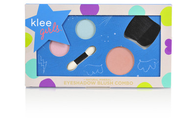 Klee Girls Natural Eyeshadow And Blush Combo Palette - Times Square Flair