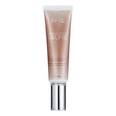 PUR Bronze Your Selfie Skin-Perfecting Face and Body Liquid Bronzer