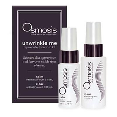 Osmosis Skincare - Unwrinkle Me - Rejuvenate & Nourish Kit