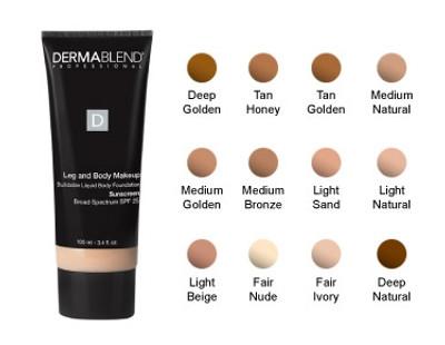 Dermablend Leg And Body Makeup Spf 25 Beautystoredepot Com