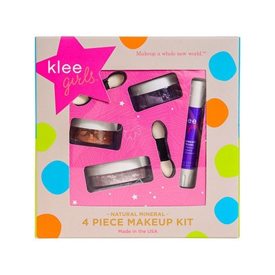 Klee Girls A Natural Mineral 4 Piece Makeup Kit - Glorious Afternoon