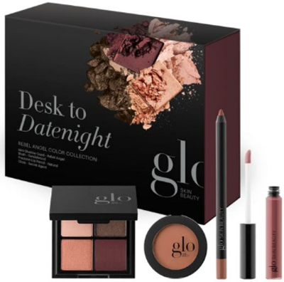 glo Skin Beauty Desk to Datenight Rebel Angel Color Collection
