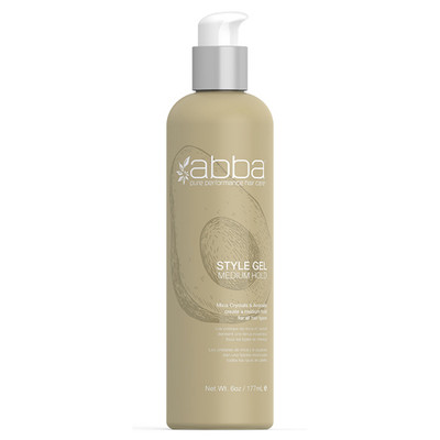 Abba Style Gel Medium Hold 6 oz.