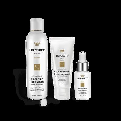 Lerosett Botanical Clear Skin Kit - Healing