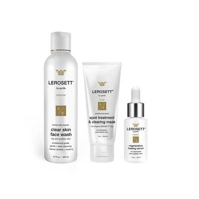 Lerosett Botanical Clear Skin Kit - Healing