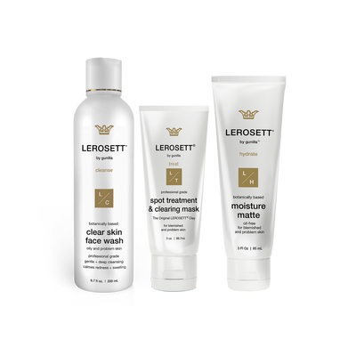 Lerosett Botanical Clear Skin Kit