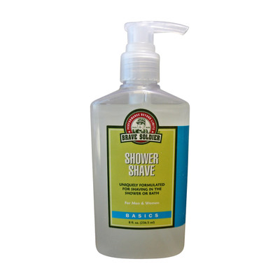 Brave Soldier Shower Shave - Body and Face Shaving