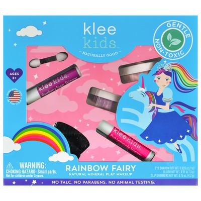 Klee Kids Rainbow Fairy Natural Mineral Play Makeup Kit