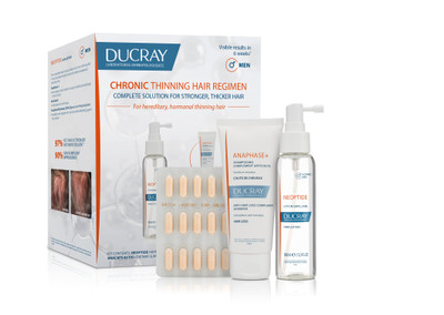 Ducray Chronic Thinning Hair Regimen for MEN