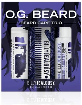 Billy Jealousy O.G. Beard Care Trio