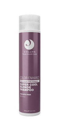 Colure Haircare Color Enhancing Super Cool Blonde Shampoo