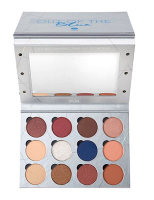 PUR Cosmetics Out of The Blue Light Up Vanity Eyeshadow Palette