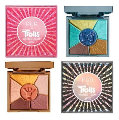 PÜR Trolls World Tour Travel-Sized Pressed Pigments Palette