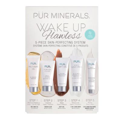 PÜR Wake Up Flawless 5-Piece Skin-Perfecting System