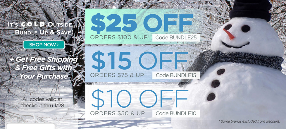 Bundle up and Save!