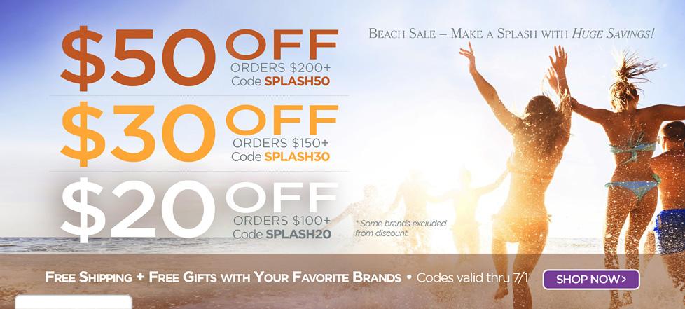 Make your savings splash!