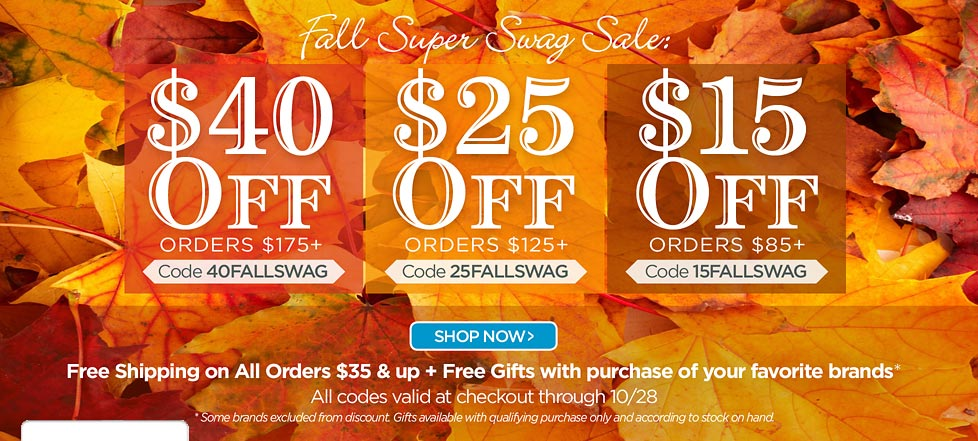 Fall Super Swag Sale!