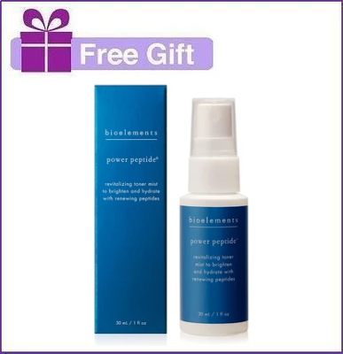 FREE Bioelements Power Peptide 1oz with $125+ Bioelements Purchase