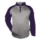 Steel Heather/Purple