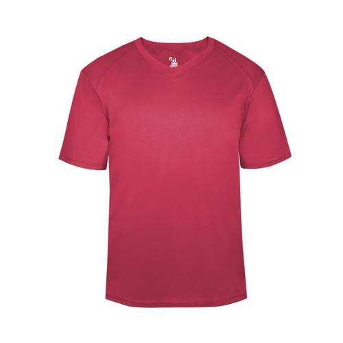 Badger B-Core V-Neck Youth T-Shirt 2162