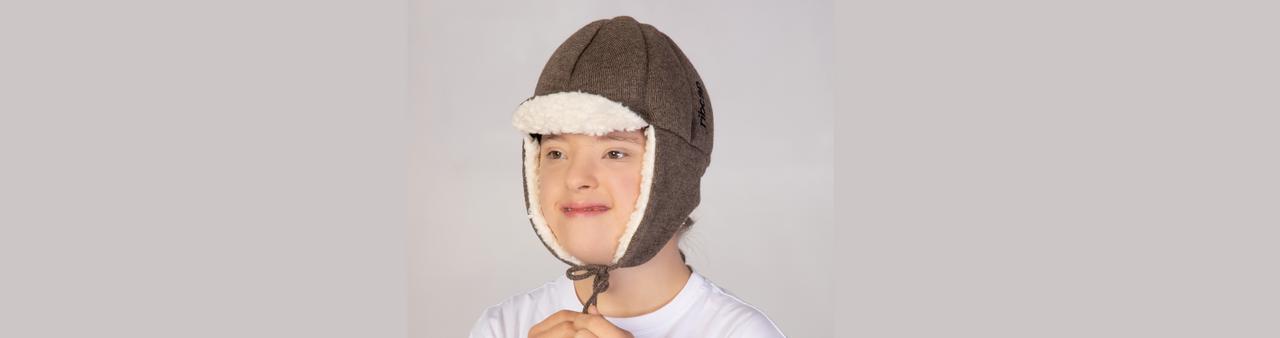 Aviator style medical helmet