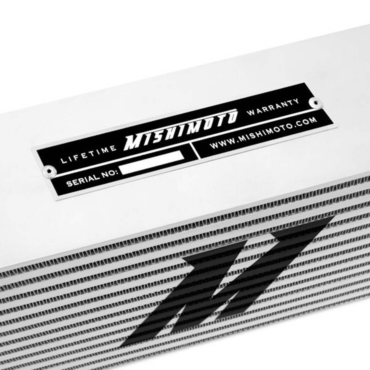 Black MMINT-UJB Mishimoto UNIVERSAL Race Edition Intercooler J-Line
