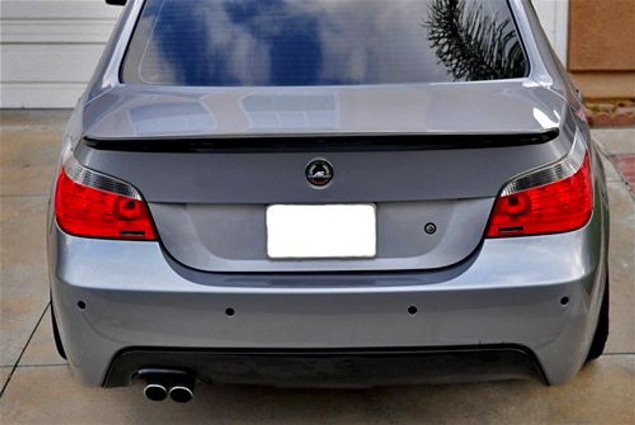 Carbon Fiber Trunk Spoiler For 2004 10 Bmw 5 Series E60 Acs Style