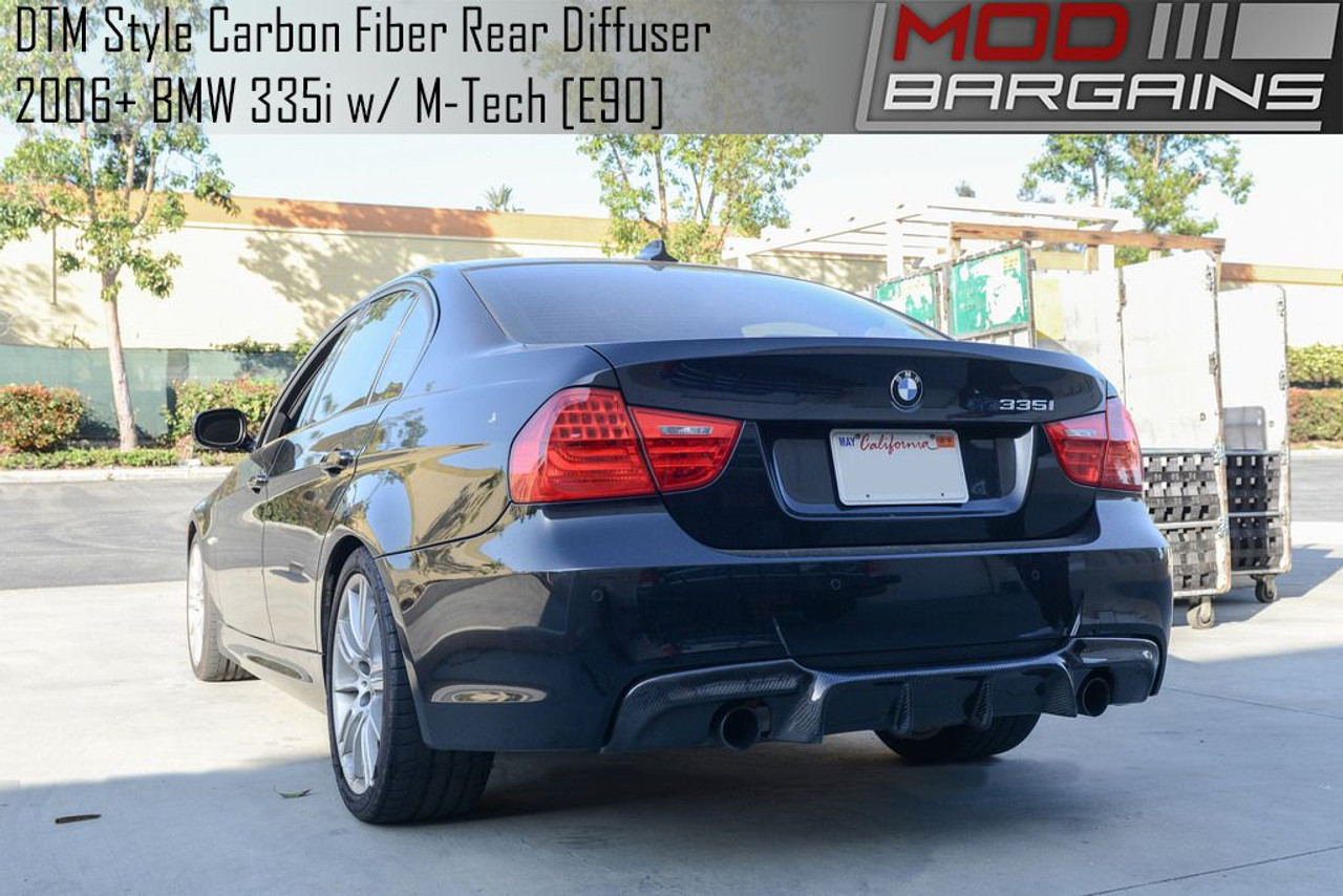 Dtm Style Carbon Fiber Rear Diffuser For 2006 2011 Bmw 335i E90 Bmdi9008