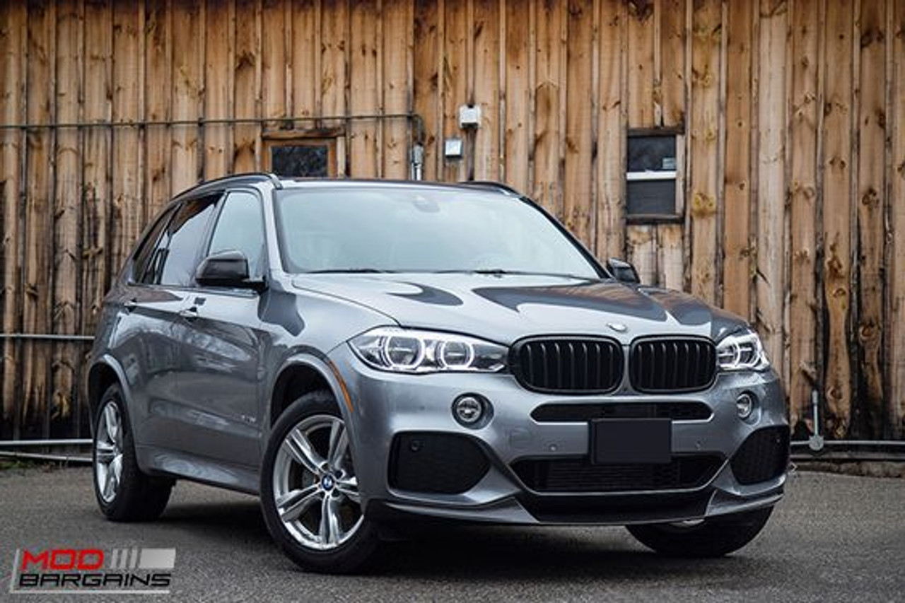 Performance Style Carbon Fiber Front Lip For 2014 Bmw X5 M Sport F15 Bmfs1501
