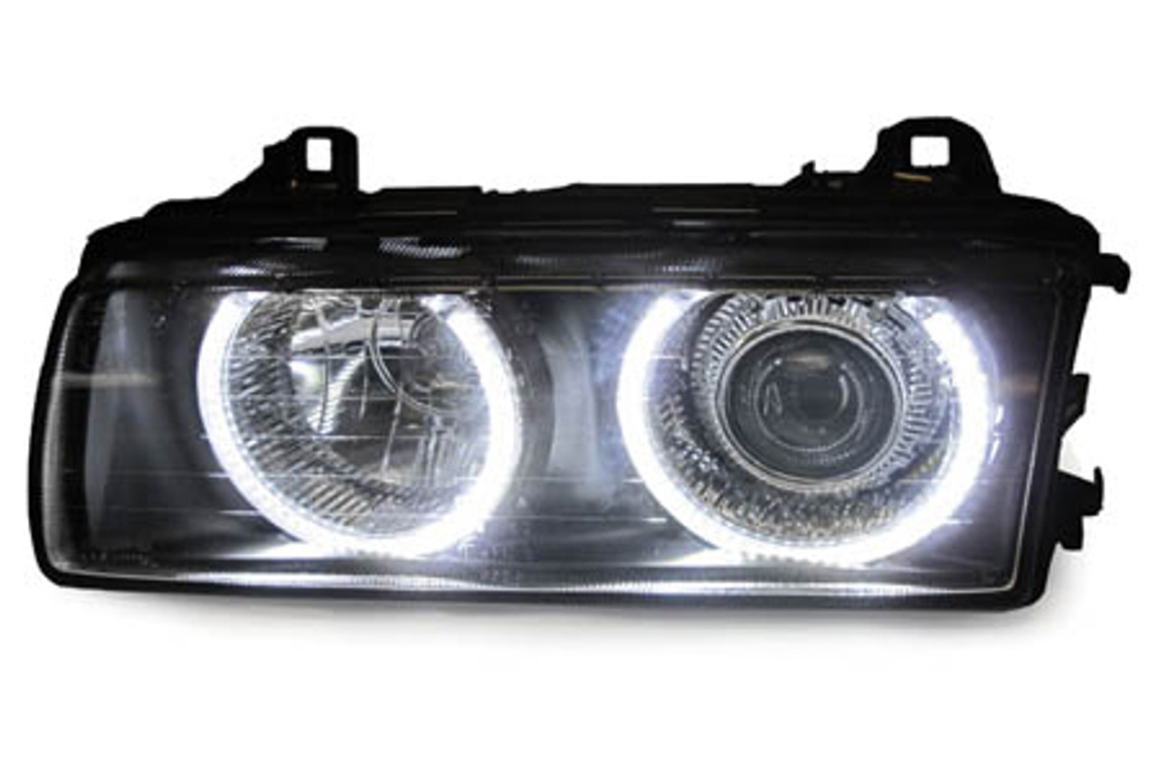 Depo Projector Headlights For 1991 98 Bmw 3 Series E36