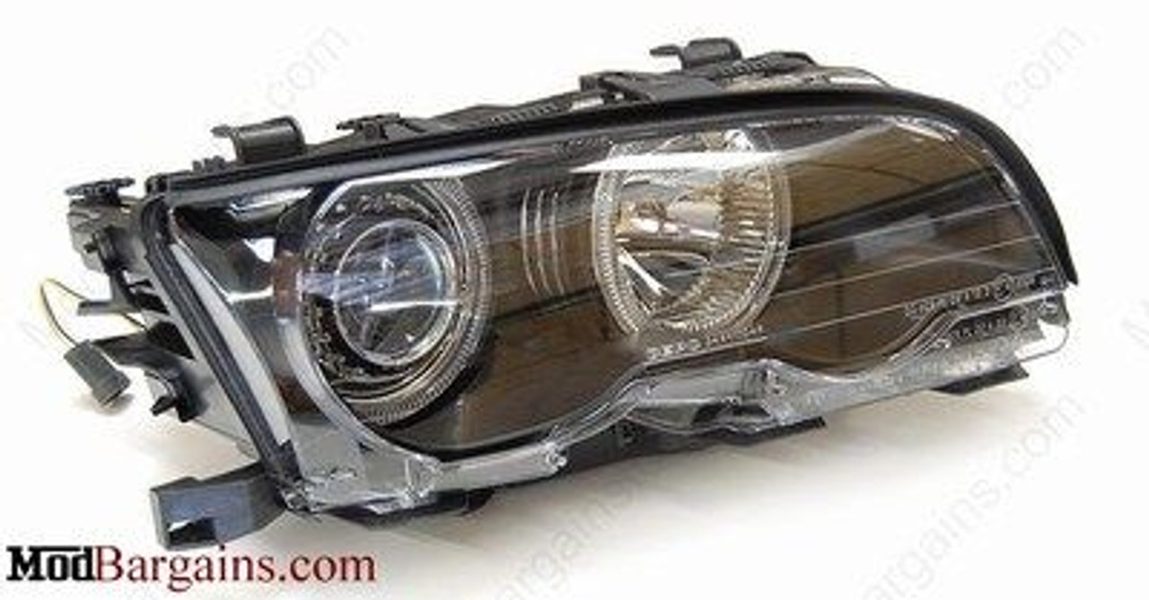 Upgraded Projector Headlight For 1999 2006 Bmw 3 Series E46 W O Factory Hid By Depo