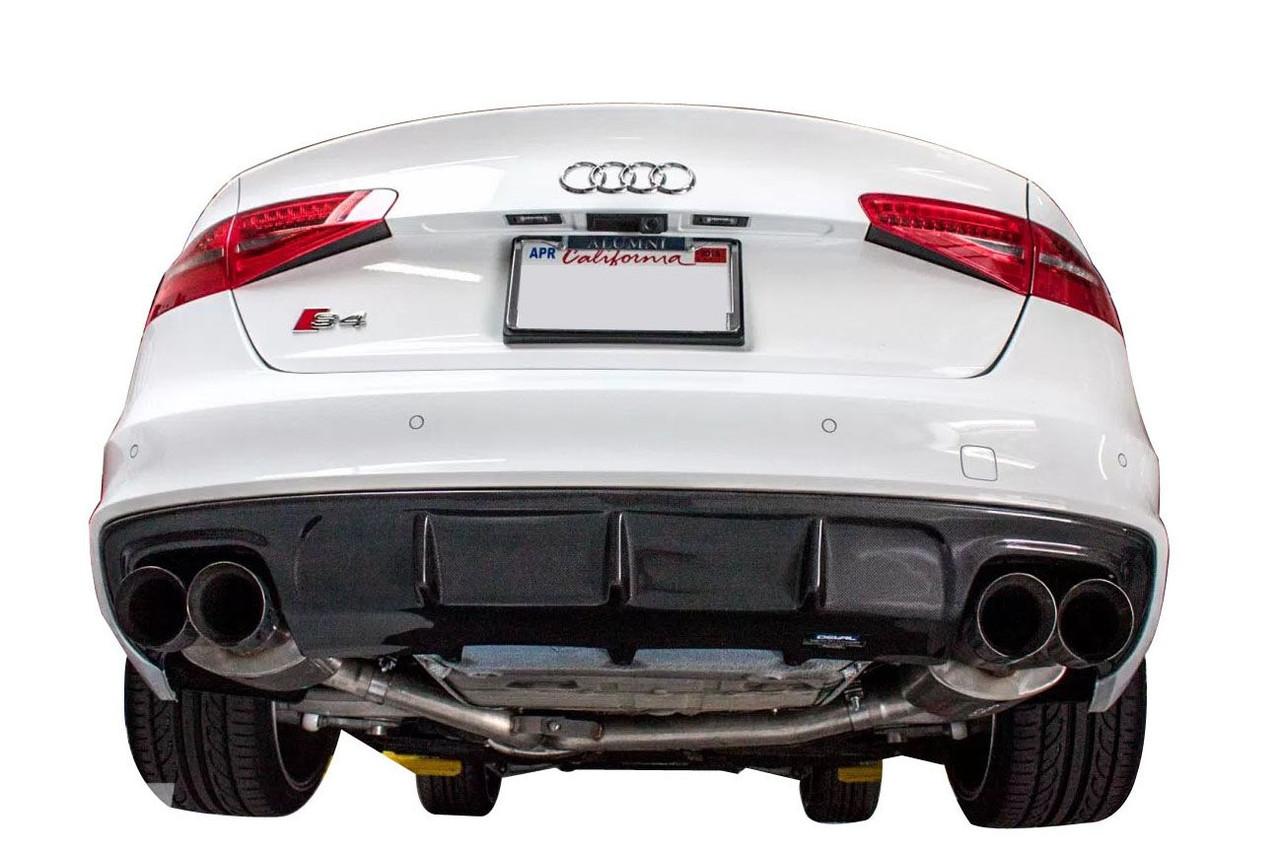 Carbon Fiber Rear Diffuser For 2013 16 Audi S4 A4 B8 5 By Deval D28244